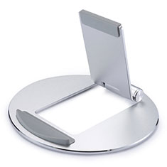 Flexible Tablet Stand Mount Holder Universal K16 for Apple iPad 4 Silver