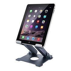 Flexible Tablet Stand Mount Holder Universal K18 for Apple iPad 3 Dark Gray