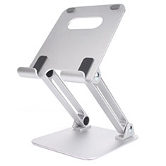 Flexible Tablet Stand Mount Holder Universal K20 for Apple iPad 4 Silver