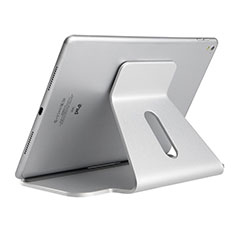Flexible Tablet Stand Mount Holder Universal K21 for Apple iPad 4 Silver