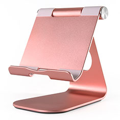 Flexible Tablet Stand Mount Holder Universal K23 for Apple iPad 4 Rose Gold
