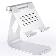 Flexible Tablet Stand Mount Holder Universal K25 for Apple iPad 4 Silver