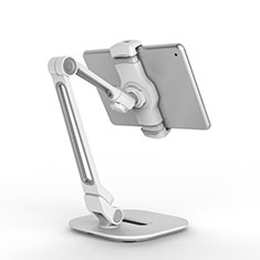 Flexible Tablet Stand Mount Holder Universal T44 for Apple iPad 2 Silver