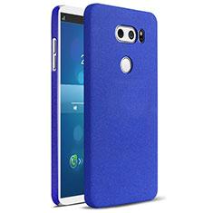 Hard Rigid Plastic Case Quicksand Cover for LG V30 Blue