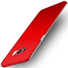 Hard Rigid Plastic Case Quicksand Cover for Samsung Galaxy S8 Plus Red