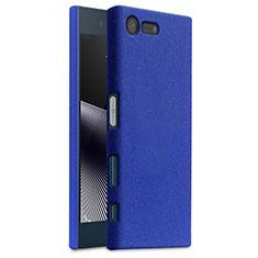 Hard Rigid Plastic Case Quicksand Cover for Sony Xperia X Compact Blue