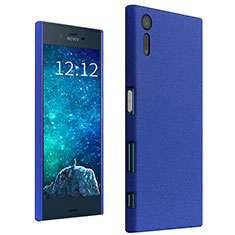 Hard Rigid Plastic Case Quicksand Cover for Sony Xperia XZ Blue