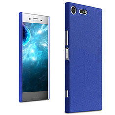 Hard Rigid Plastic Case Quicksand Cover for Sony Xperia XZ Premium Blue
