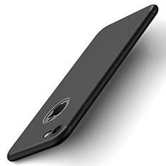 Hard Rigid Plastic Matte Finish Back Cover for Apple iPhone 8 Black
