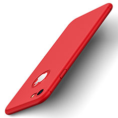 Hard Rigid Plastic Matte Finish Back Cover for Apple iPhone SE (2020) Red
