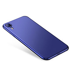 Hard Rigid Plastic Matte Finish Case Back Cover M01 for Apple iPhone XR Blue