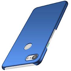 Hard Rigid Plastic Matte Finish Case Back Cover M01 for Google Pixel 3 Blue