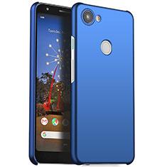 Hard Rigid Plastic Matte Finish Case Back Cover M01 for Google Pixel 3a Blue