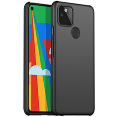 Hard Rigid Plastic Matte Finish Case Back Cover M01 for Google Pixel 5 Black