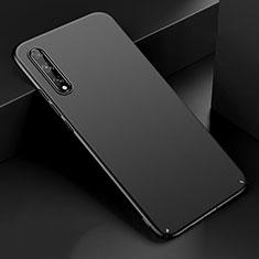 Hard Rigid Plastic Matte Finish Case Back Cover M01 for Huawei Enjoy 10S Black