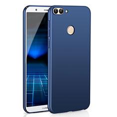 Hard Rigid Plastic Matte Finish Case Back Cover M01 for Huawei Enjoy 7S Blue