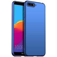 Hard Rigid Plastic Matte Finish Case Back Cover M01 for Huawei Enjoy 8e Blue