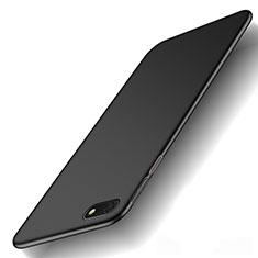 Hard Rigid Plastic Matte Finish Case Back Cover M01 for Huawei Enjoy 8e Lite Black