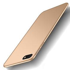 Hard Rigid Plastic Matte Finish Case Back Cover M01 for Huawei Enjoy 8e Lite Gold