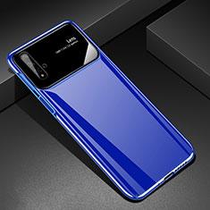 Hard Rigid Plastic Matte Finish Case Back Cover M01 for Huawei Honor 20 Blue