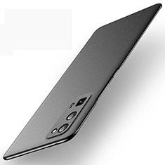 Hard Rigid Plastic Matte Finish Case Back Cover M01 for Huawei Honor 30 Pro+ Plus Black
