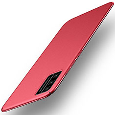 Hard Rigid Plastic Matte Finish Case Back Cover M01 for Huawei Honor Play4T Pro Red