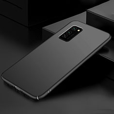 Hard Rigid Plastic Matte Finish Case Back Cover M01 for Huawei Honor View 30 Pro 5G Black