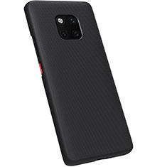 Hard Rigid Plastic Matte Finish Case Back Cover M01 for Huawei Mate 20 Pro Black