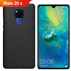 Hard Rigid Plastic Matte Finish Case Back Cover M01 for Huawei Mate 20 X Black