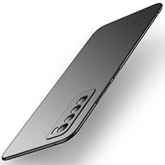 Hard Rigid Plastic Matte Finish Case Back Cover M01 for Huawei Nova 7 5G Black