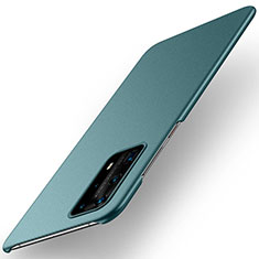 Hard Rigid Plastic Matte Finish Case Back Cover M01 for Huawei P40 Pro+ Plus Green