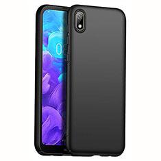 Hard Rigid Plastic Matte Finish Case Back Cover M01 for Huawei Y5 (2019) Black
