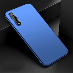 Hard Rigid Plastic Matte Finish Case Back Cover M01 for Huawei Y8p Blue