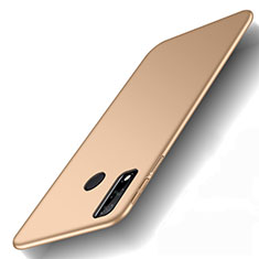 Hard Rigid Plastic Matte Finish Case Back Cover M01 for Huawei Y8s Gold