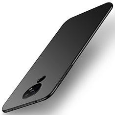 Hard Rigid Plastic Matte Finish Case Back Cover M01 for Nokia 6.2 Black