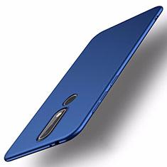 Hard Rigid Plastic Matte Finish Case Back Cover M01 for Nokia X5 Blue