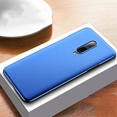 Hard Rigid Plastic Matte Finish Case Back Cover M01 for OnePlus 7T Pro Blue