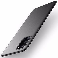 Hard Rigid Plastic Matte Finish Case Back Cover M01 for OnePlus 8T 5G Black