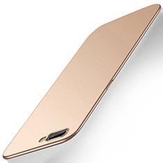 Hard Rigid Plastic Matte Finish Case Back Cover M01 for Oppo A12e Gold