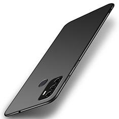 Hard Rigid Plastic Matte Finish Case Back Cover M01 for Oppo A53s Black