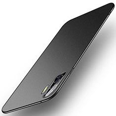 Hard Rigid Plastic Matte Finish Case Back Cover M01 for Oppo A91 Black