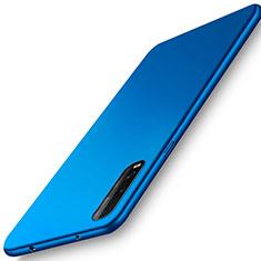 Hard Rigid Plastic Matte Finish Case Back Cover M01 for Oppo Find X2 Blue