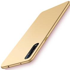 Hard Rigid Plastic Matte Finish Case Back Cover M01 for Oppo Find X2 Pro Gold