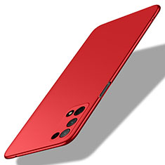 Hard Rigid Plastic Matte Finish Case Back Cover M01 for Oppo K7x 5G Red