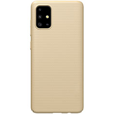 Hard Rigid Plastic Matte Finish Case Back Cover M01 for Samsung Galaxy A51 5G Gold