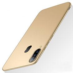 Hard Rigid Plastic Matte Finish Case Back Cover M01 for Samsung Galaxy A60 Gold