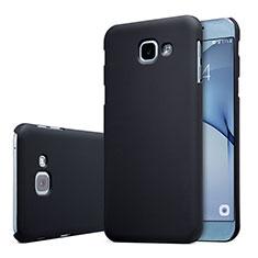 Hard Rigid Plastic Matte Finish Case Back Cover M01 for Samsung Galaxy A8 (2016) A8100 A810F Black