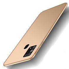 Hard Rigid Plastic Matte Finish Case Back Cover M01 for Samsung Galaxy M21s Gold