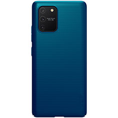 Hard Rigid Plastic Matte Finish Case Back Cover M01 for Samsung Galaxy S10 Lite Blue