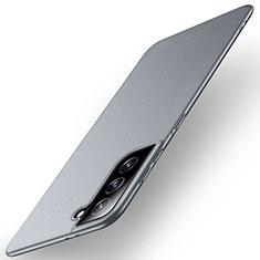 Hard Rigid Plastic Matte Finish Case Back Cover M01 for Samsung Galaxy S21 5G Gray
